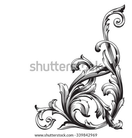 Filigree Stock Images,...