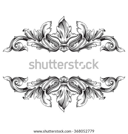 Frame design for wedding invitation vector border in victorian style - Filigree Stock Images Royalty Free Images Amp Vectors