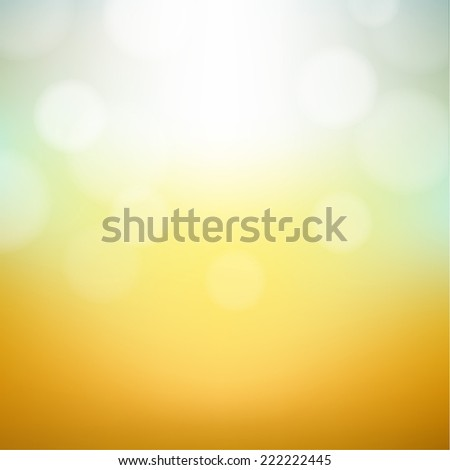 Vintage Bokeh Background With Gradient Mesh, Vector Illustration - stock vector