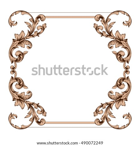 Rococo Stock Images Royalty Free Images Vectors