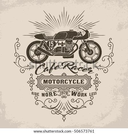 cafe racer stock images, royalty-free images & vectors   shutterstock