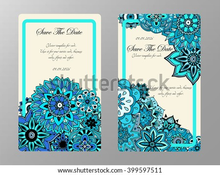 Vintage card wedding invitation card your stock vector 399597511 vintage card wedding invitation card for your business and creative hand drawn doodle stopboris Gallery