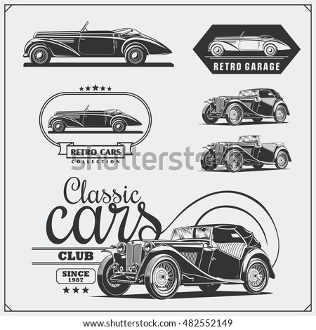 Vintage Car Stock Images Royalty Free Images Vectors Shutterstock