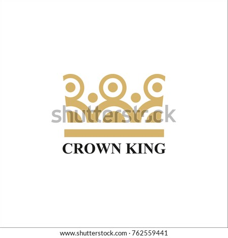King crown logo design