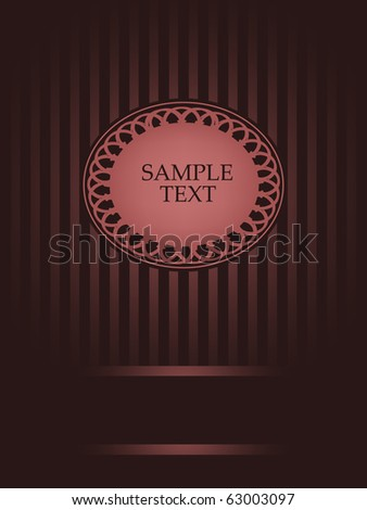 vintage design - stock vector