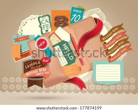 Vintage Design Elements (21) - stock vector
