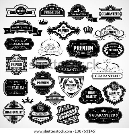 Vintage Design Elements  Vintage Logos