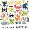 Vintage designs - stock vector