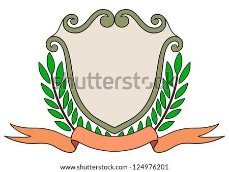 vintage emblem badge - stock vector
