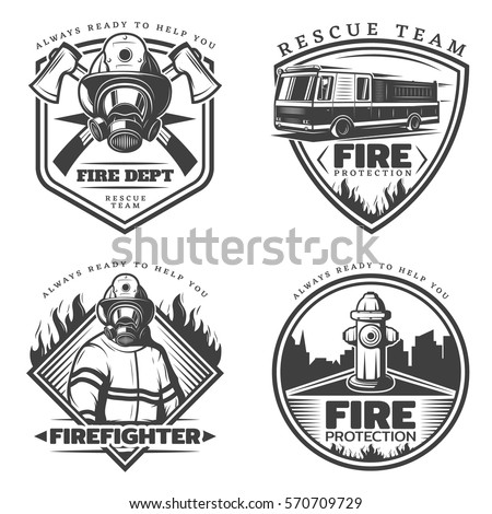 Firefighter Stock Images, Royalty-Free Images & Vectors | Shutterstock