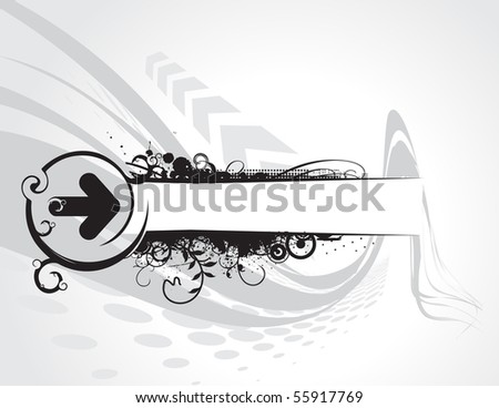 Vintage frame in Victorian style. Vector illustration. - stock vector