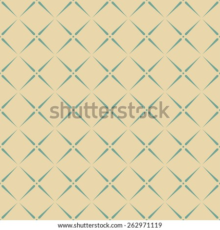 vintage geometric tile pattern. can by tiled seamlessly. - stock vector