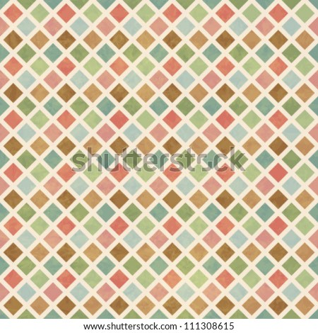 Vintage Geometry Seamless Pattern - stock vector