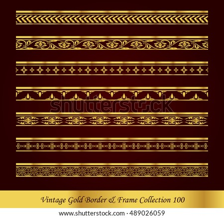 Vintage Gold amp Frame Vector Images over 22000