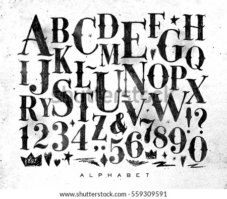 Font Stock Images Royalty Free Images Vectors