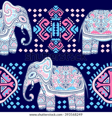 Colourful Elephant Stock Images Royalty Free Images