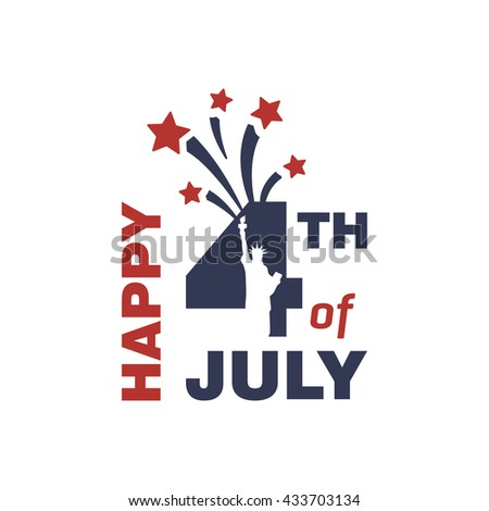 Vintage greeting cards fourth july greeting stock vector royalty vintage greeting cards fourth of july greeting card happy independence day united states m4hsunfo