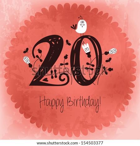 Поздравления на день рождения на 20 лет 9