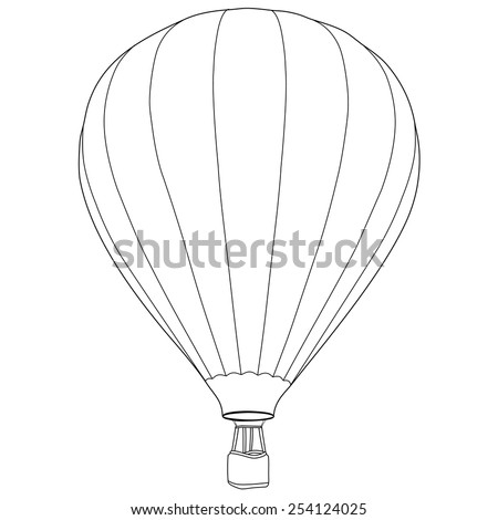 Balloon Outline Stock Images Royalty Free Images