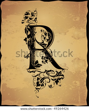 Flower Letter R Stock Images, Royalty-Free Images ...