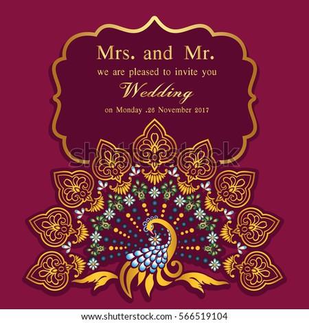 vintage invitation wedding cards template frame stock vector 566519104 shutterstock. Black Bedroom Furniture Sets. Home Design Ideas