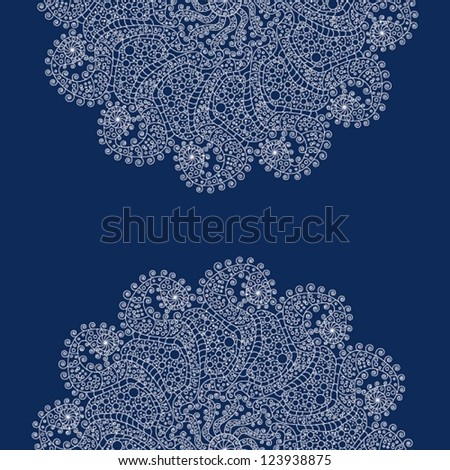 Vintage invitation card. Can be used for packaging, valentines day decoration. - stock vector
