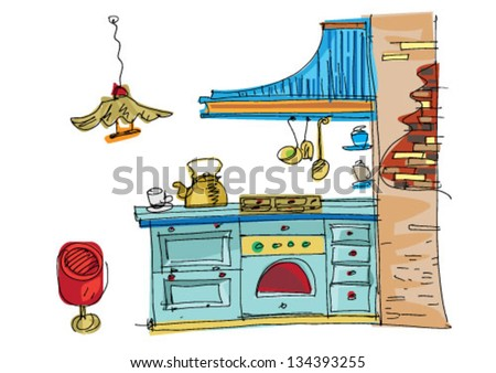 Kitchen Appliance Cartoon Stock Images Royalty Free Images