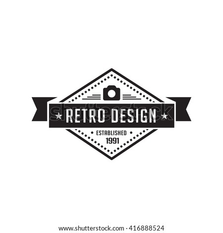 Vintage Label Badge Logo Design Vector Stock Vector HD (Royalty Free ...