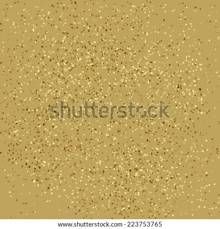 Vintage paper texture with particles - stock vector