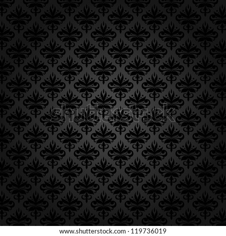vintage pattern 1 - stock vector
