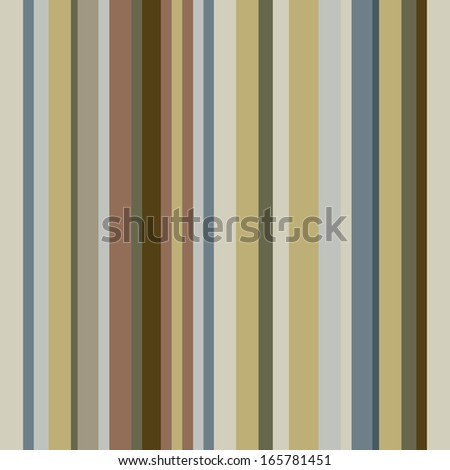 Vintage pattern, retro texture striped fabric brown, yellow, ocher, gray. Vector EPS 10 illustration. - stock vector