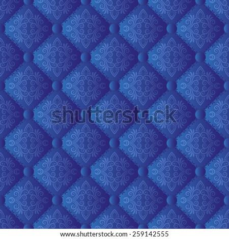 vintage pattern seamless - stock vector