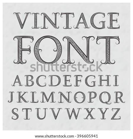 latin style font - photo #37
