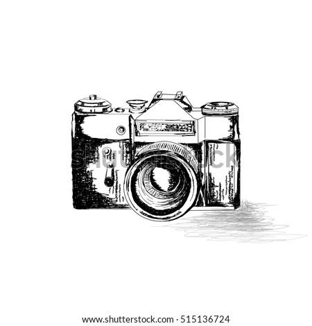 Vintage camera illustration #1