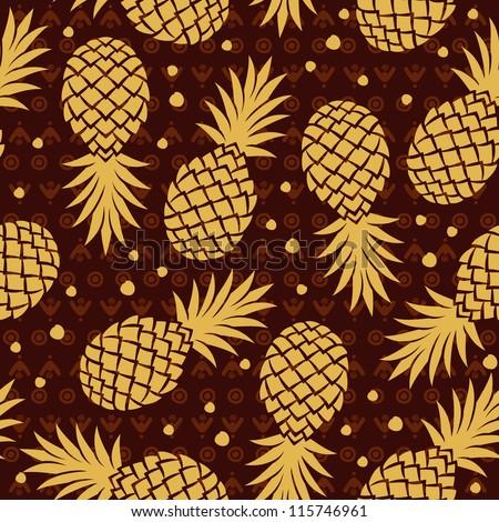 Vintage Pineapple 102