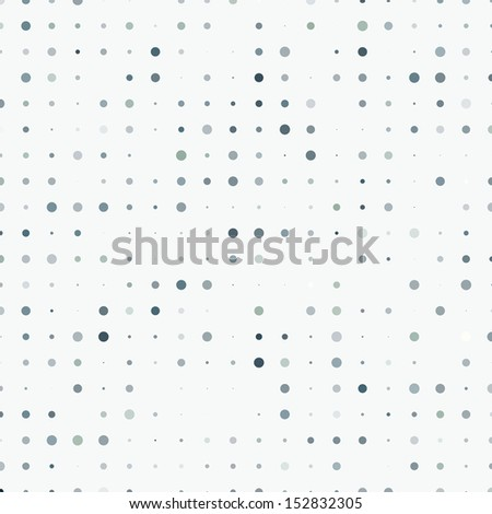Vintage Polka Dots - stock vector