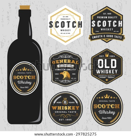 Whiskey Label Stock Images, Royalty-Free Images & Vectors ...