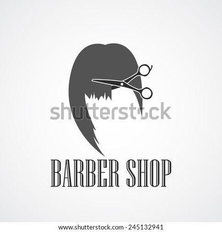 Vintage Retro barber shop logos, labels, badges and design elements. Vector illustrations.