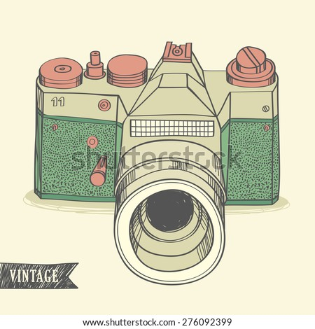 Camera Sketch Stock Photos Royalty-Free Images U0026 Vectors - Shutterstock