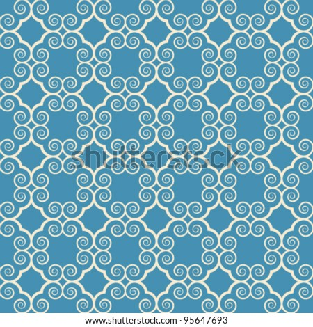 vintage seamless monochrome geometrical pattern background