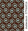 Vintage seamless pattern. - stock