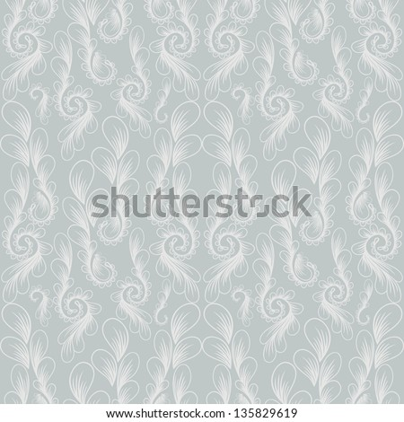 Vintage seamless pattern. Beautiful background. Vector