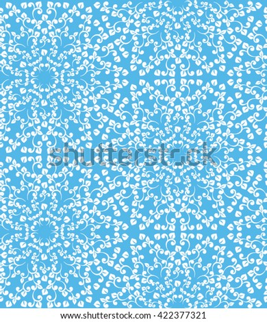 Vintage seamless pattern. Classical luxury old fashioned ornament - stock vector