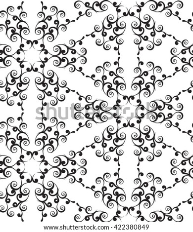 Vintage seamless pattern. Classical luxury old fashioned ornament