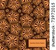 Vintage seamless pattern. EPS-8. - stock vector