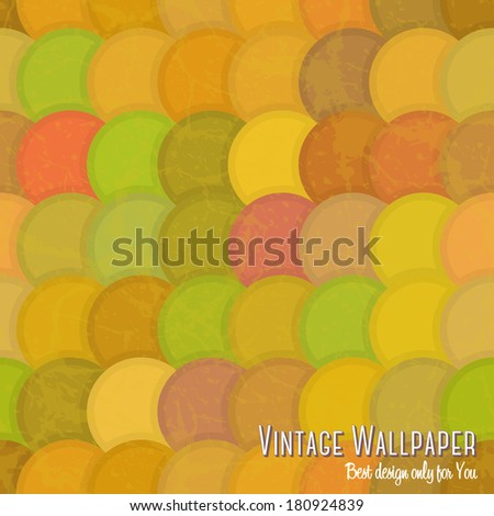 Vintage seamless pattern for design