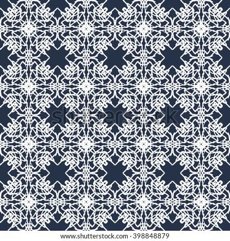 vintage seamless pattern vector illustration - stock vector