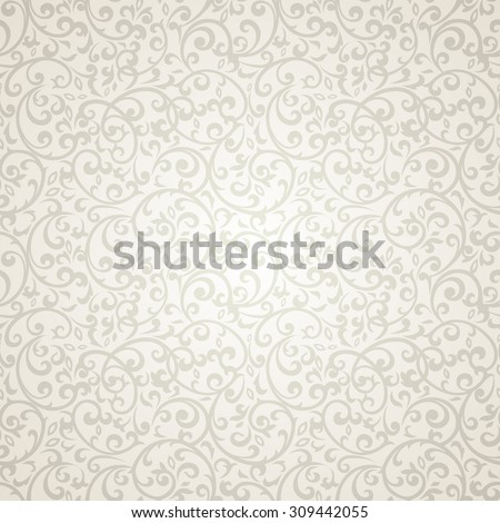 Vintage seamless pattern with lot of detailed elements. - stock vector