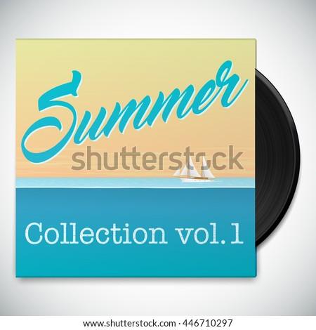 music album template