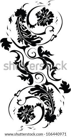 Vintage tattoos - stock vector